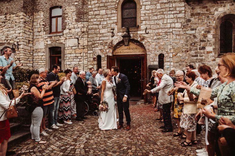 trouwfotograaf voor een trouwreportage bij Sibberhuuske Valkenburg limburg