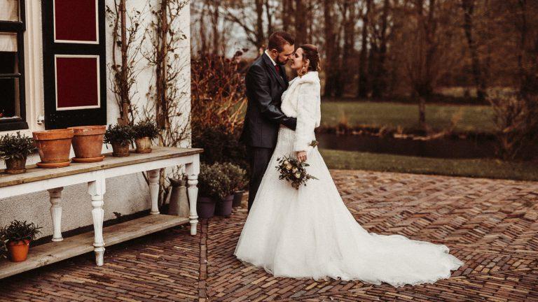 trouwfotograaf voor een trouwreportage bij het land van beloften in Moerkapelle zuid holland
