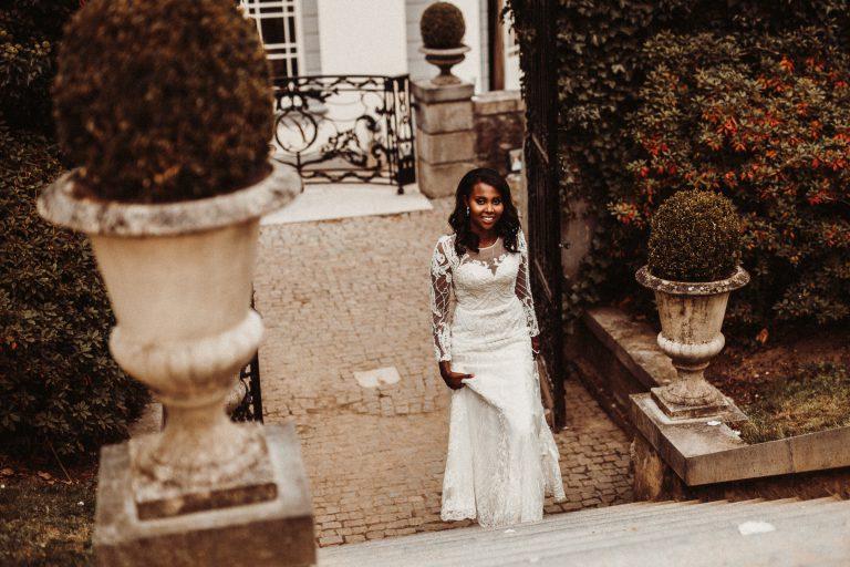 trouwfotograaf voor een trouwreportage bij Kasteel Bloemendal in Vaals zuid limburg