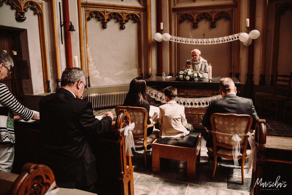Communie fotografie van een communie bij het cellebroederskapel in Maastricht Limburg