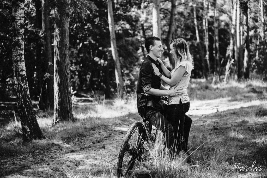 spontane loveshoot met dit romantisch koppel in landgraaf parkstad