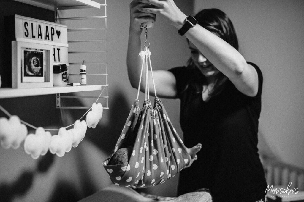 geboortereportage van een thuisbevalling in limburg
