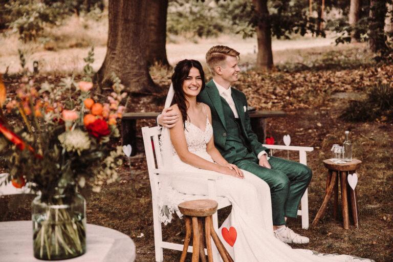 Bruidsfotograaf eindhoven voor een bruiloft bij de kapellerput in Heeze